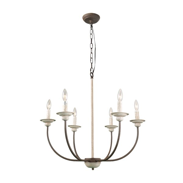 Leigh 6-Light Chandelier by Ophelia & Co.