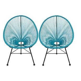 Charmant Teal Papasan Chair   Wayfair