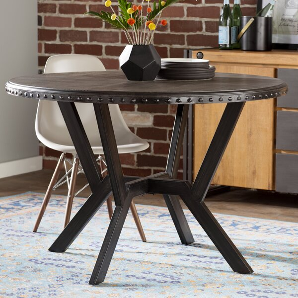 Bairoil Dining Table by Three Posts