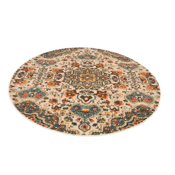 Harden Cream Area Rug by Bungalow Rose