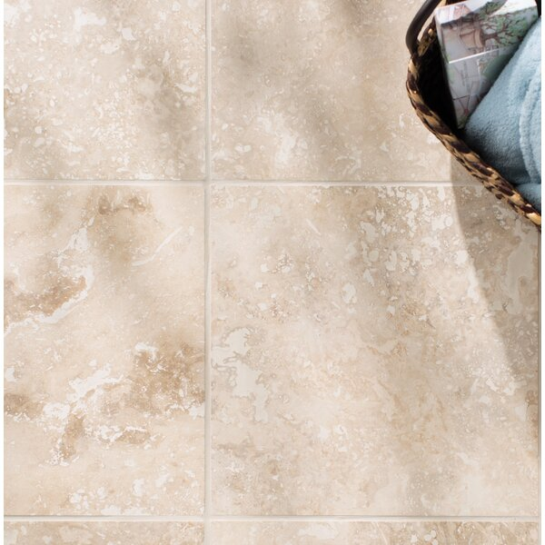 Tuscany Classic 16'' x 16'' Travertine Field Tile in Honed and Filled Beige by MSI