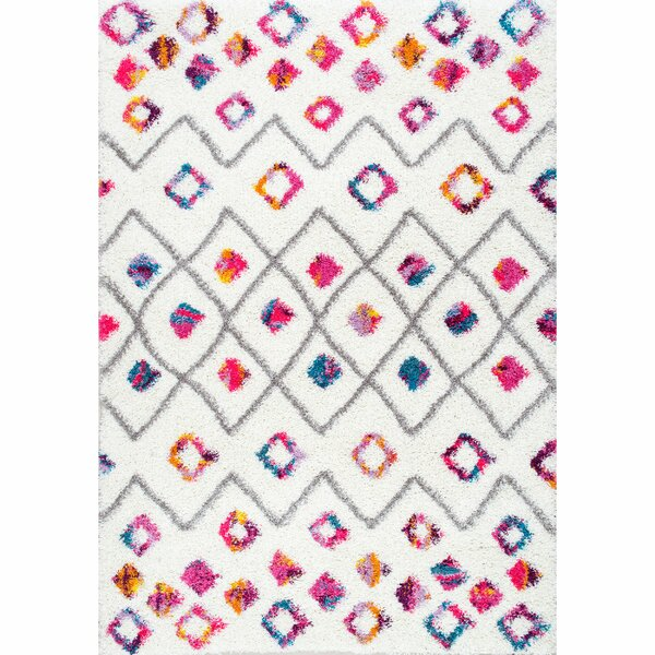Gwendolyn Pink Area Rug by Viv + Rae
