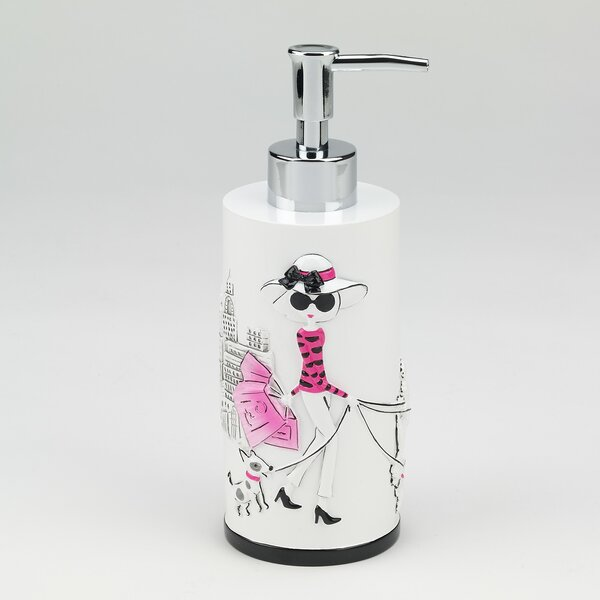 Jones Street Lotion and Soap Dispenser by House of Hampton