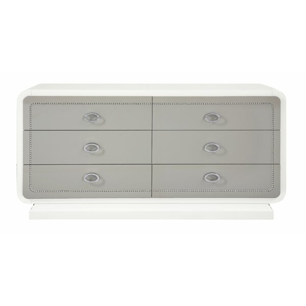 Katlyn 6 Drawer Double Dresser by Rosdorf Park