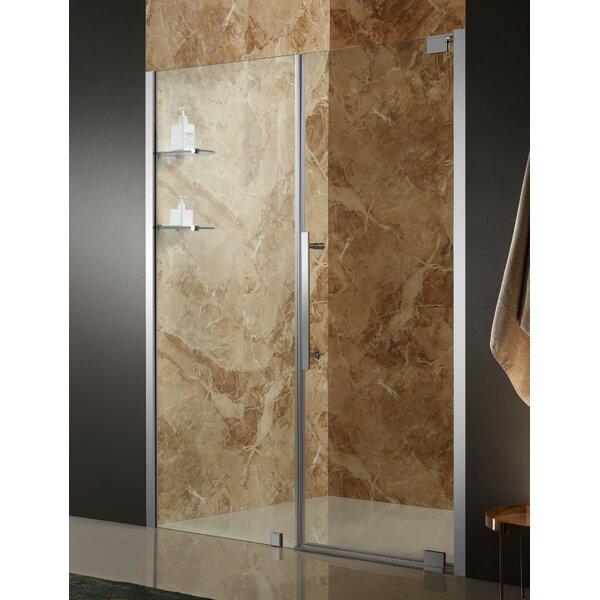 Duke 60 x 72 Pivot Semi-Frameless Shower Door by ANZZI