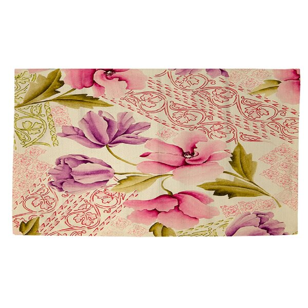 Tulips and Lace Area Rug by Manual Woodworkers & Weavers