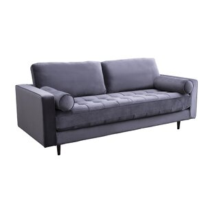Leela Tufted Velvet Sofa