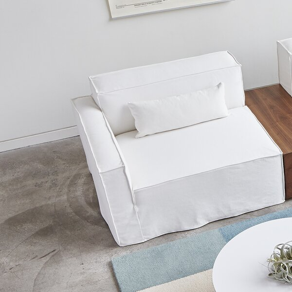 Mix Modular Box Cushion Sofa Slipcover by Gus* Modern