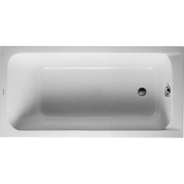 D-Code 59.05 x 29.5 Soaking Bathtub by Duravit