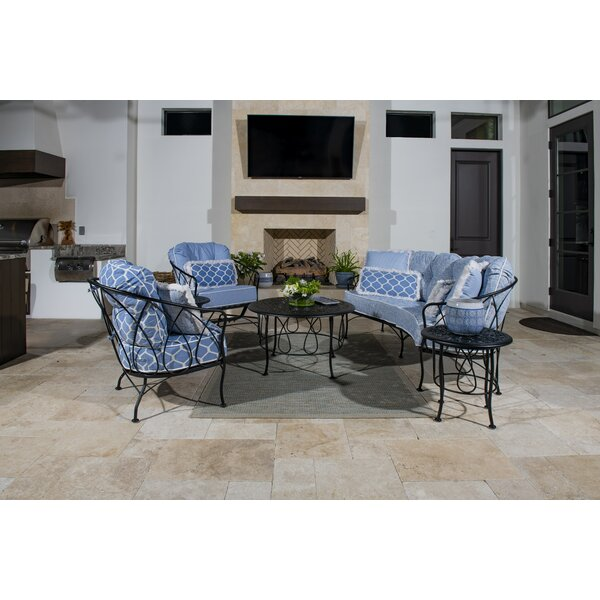 Delany Sofa Seating Group with Cushions by Woodard