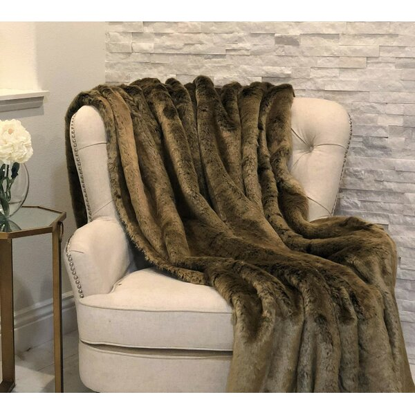 Fossum Rabbit Handmade Luxury Throw by Everly Quinn