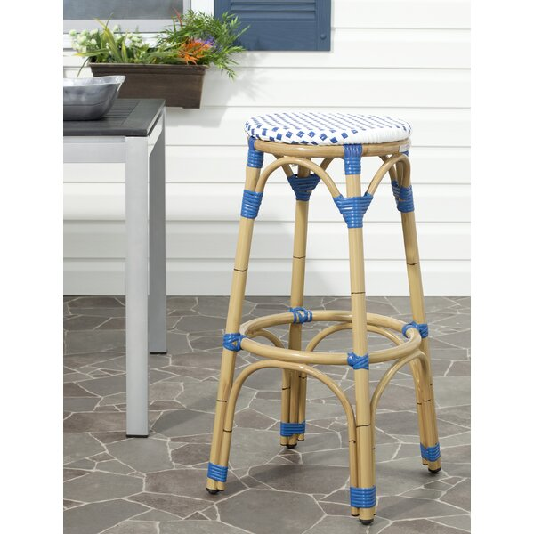 Kipnuk 30 Patio Bar Stool by Safavieh