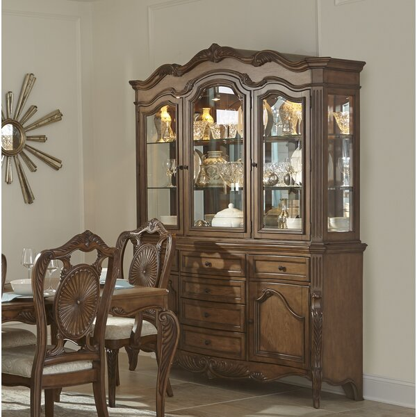 Whitcomb China Cabinet (Set of 2) by Astoria Grand