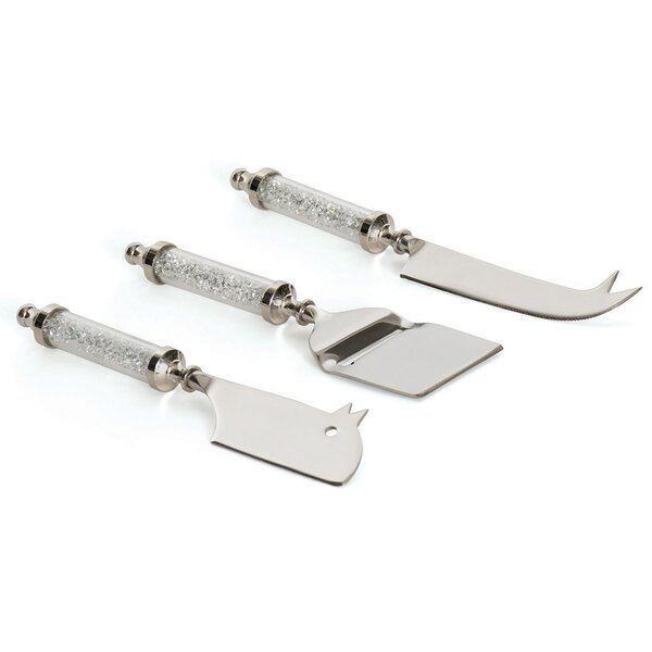 Milton 3 Piece Cheese Knife Set by Hip Vintage
