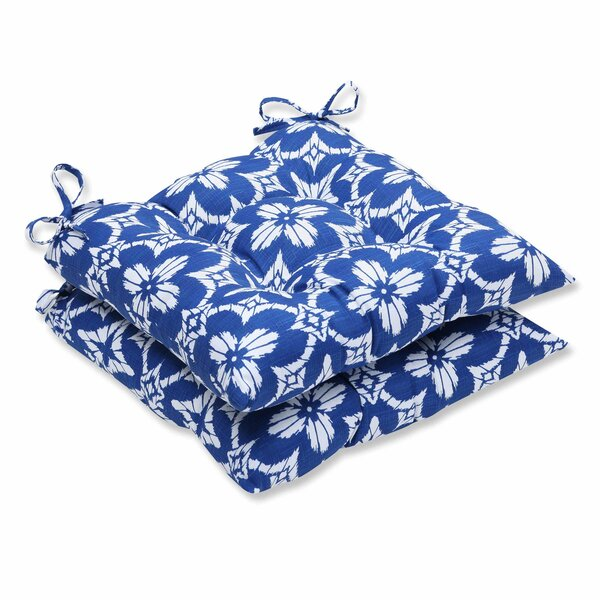 Aspidoras Indoor/Outdoor Dining Chair Cushion (Set of 2) by Pillow Perfect