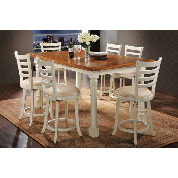 Newville Counter Height Dining Table by Charlton Home