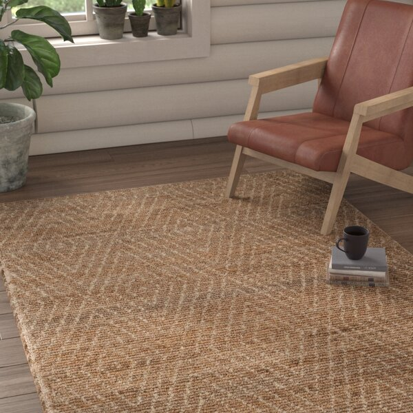 Pace Handwoven Natural/Ivory Area Rug by Union Rustic