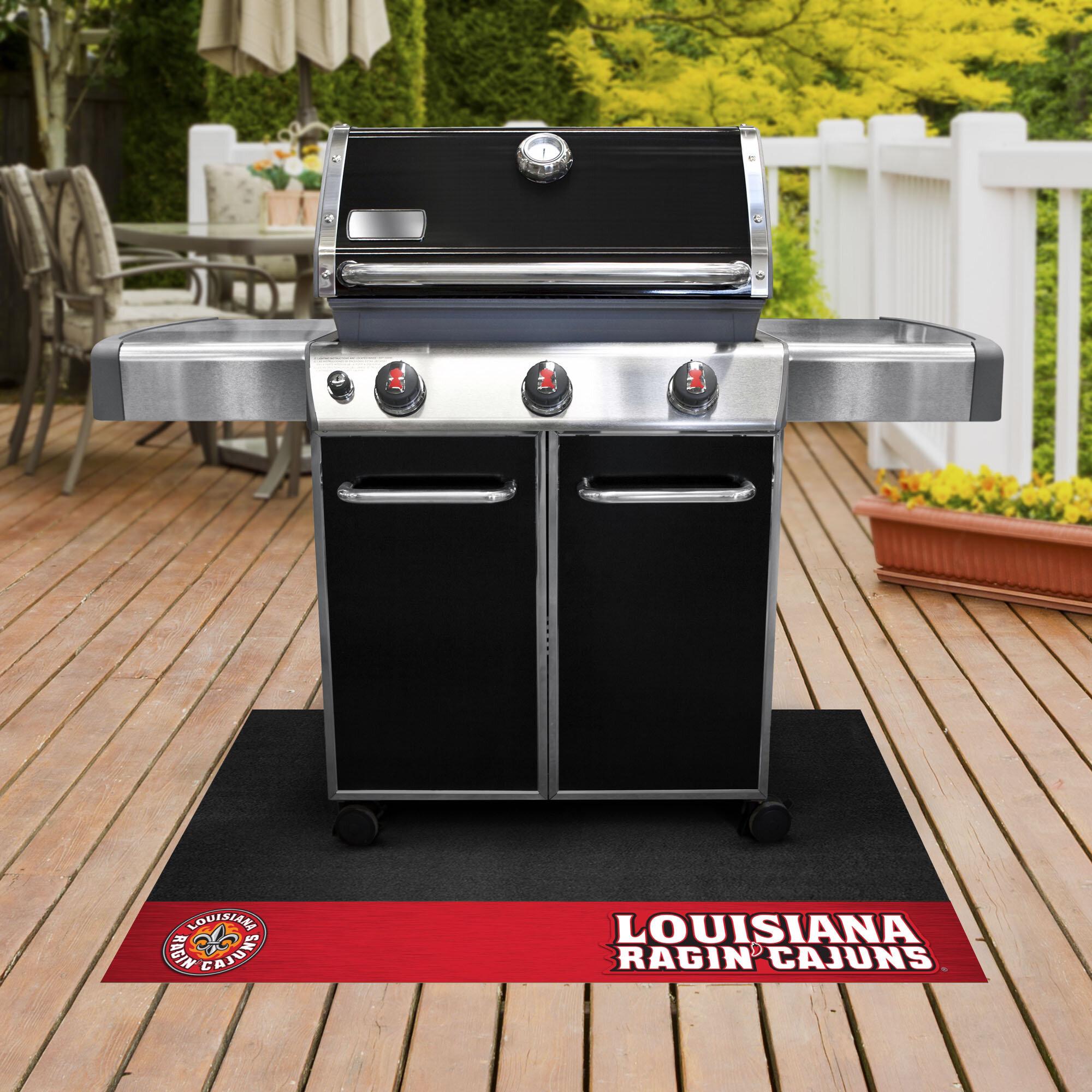 Fanmats University Of Louisiana Lafayette Kitchen Mat - Wayfair
