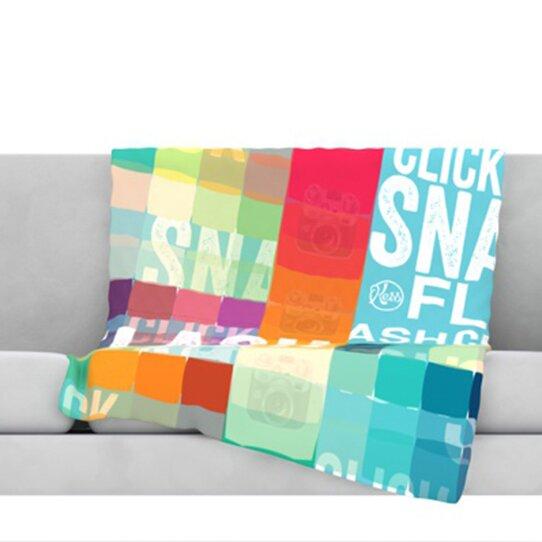 Flash Throw Blanket by KESS InHouse