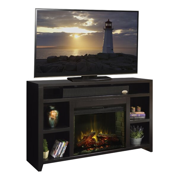 Garretson 62 TV Stand with Fireplace by Darby Home Co