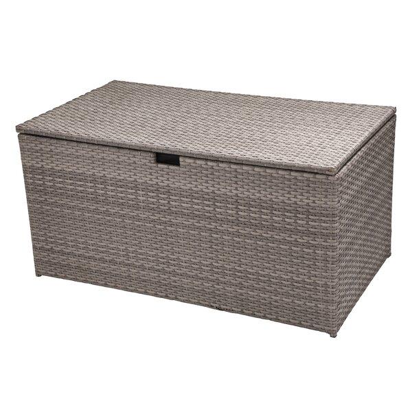 140 Gallon Wicker Deck Box by Glitzhome Glitzhome