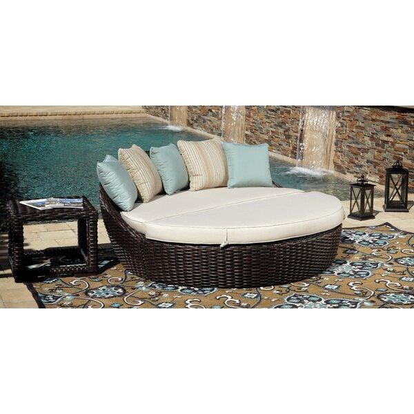 Cardiff Daybed Deep Seating Group with Cushion by Sunset West