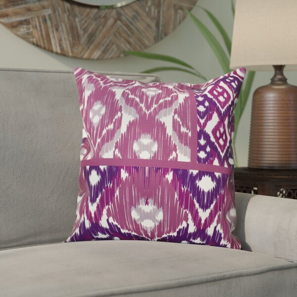 Meetinghouse Free Spirit Geometric Outdoor Throw Pillow by Bungalow Rose