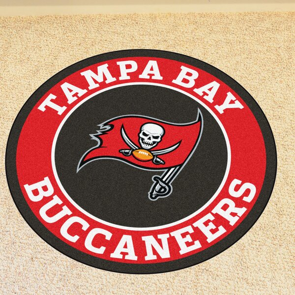 NFL Tampa Bay Buccaneers Roundel Mat by FANMATS