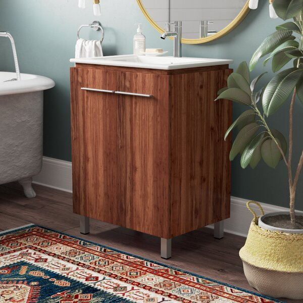 Briceno 24 Single Bathroom Vanity Set by Mercury Row