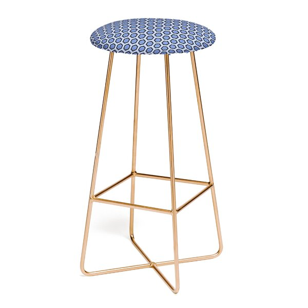 Caroline Okun Cloudburst 30 Bar Stool by East Urban Home