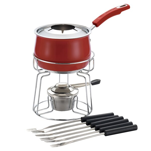 2 qt. Stainless Steel Fondue Set by Rachael Ray