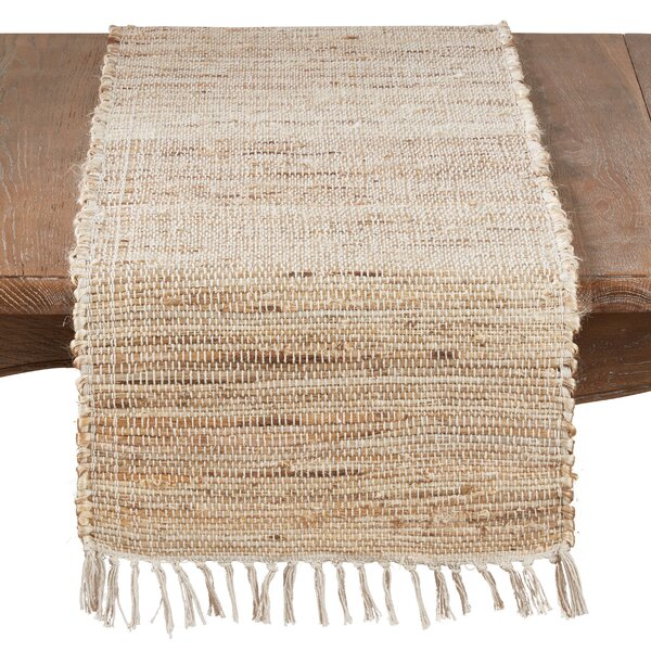 Youngs Braided Table Runner by Gracie Oaks
