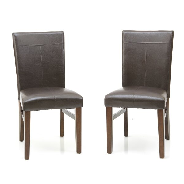 Whisenhunt Upholstered Dining Chair (Set of 2) by Millwood Pines