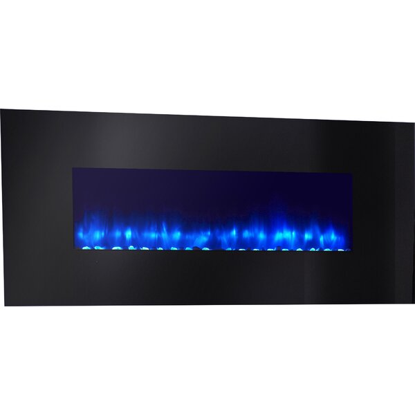 Linear Wall Mounted Electric Fireplace by Simplifire