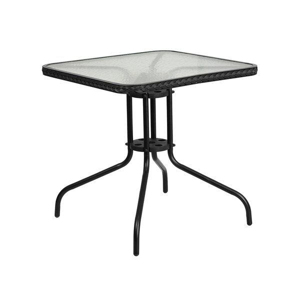 Rafferty Metal Bar Table by Winston Porter Winston Porter