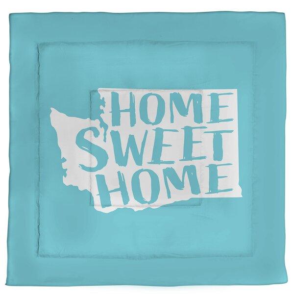 Washington Home Sweet Single Reversible Comforter