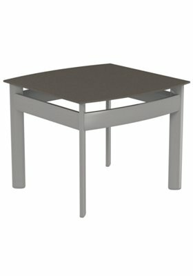 Kor Square Aluminum Coffee Table by Tropitone