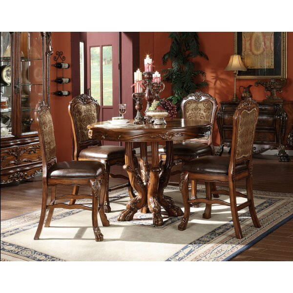 Steiner 5 Piece Counter Height Dining Set by Astoria Grand