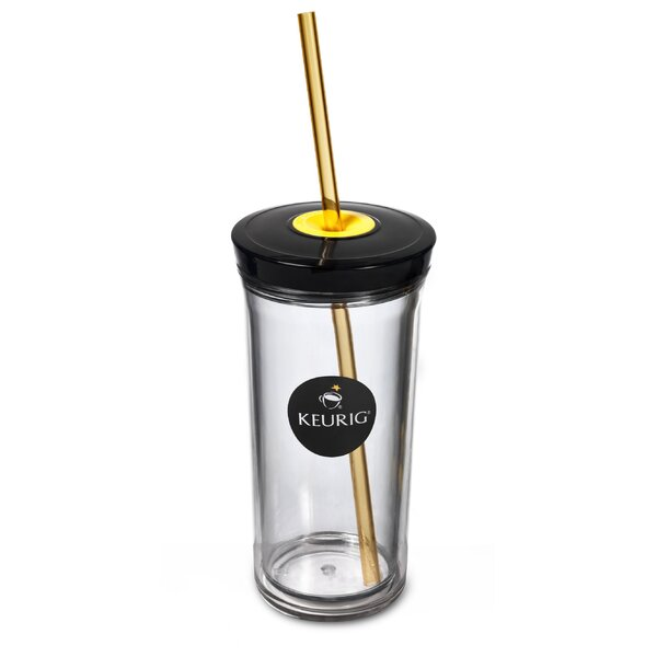 Keurig Iced Beverage 16 oz. Plastic Travel Tumbler by Keurig