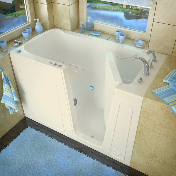 Aspen 60 x 32 Walk-In Air Jetted Bathtub by Therapeutic Tubs