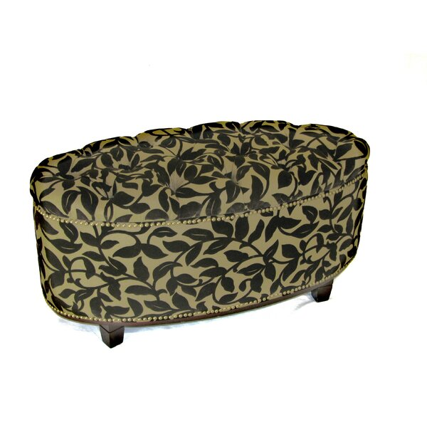 Malia Oval Storage Ottoman by Fleur De Lis Living