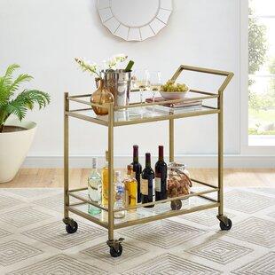 bar cart - Rose Gold Bar Cart