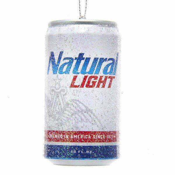 Budweiser Natural Light Can Shaped Ornament by Kurt Adler