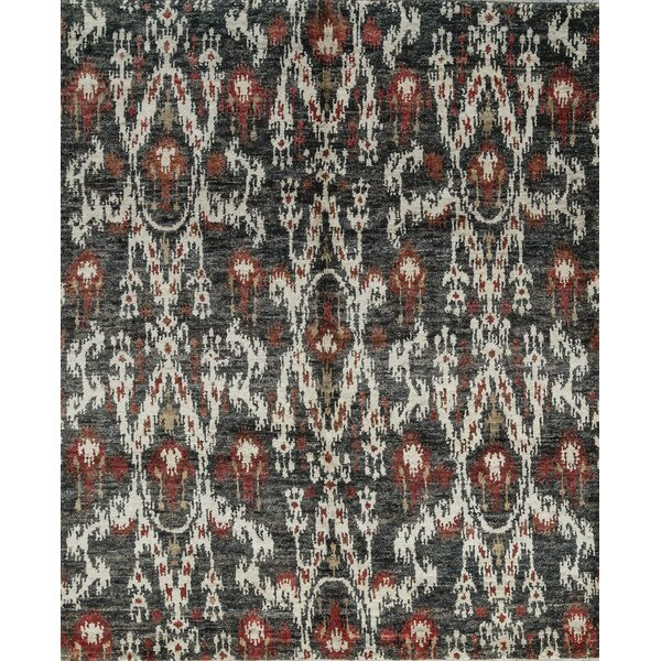 One-of-a-Kind Hand-Knotted Gray/White Indoor Area Rug by Bokara Rug Co., Inc.