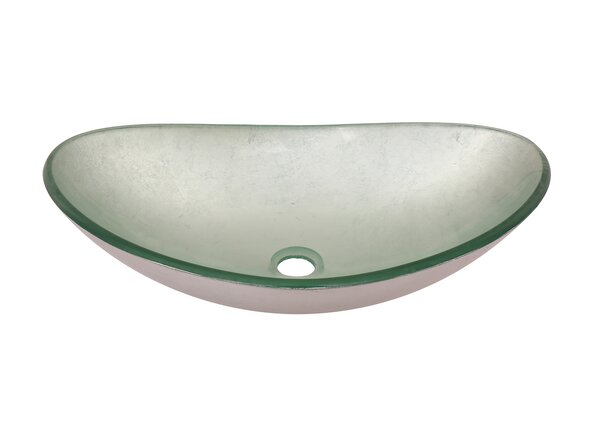 Argento Oval Vessel Bathroom Sink by Novatto