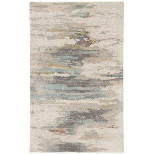 Top Reviews Fairlop Hand-Tufted Tidal Foam/Bungee Cord Area Rug By Ivy Bronx