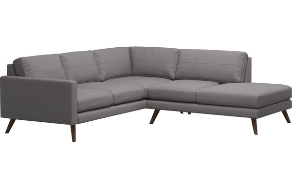 Review Dane Corner Sectional With Bumper
