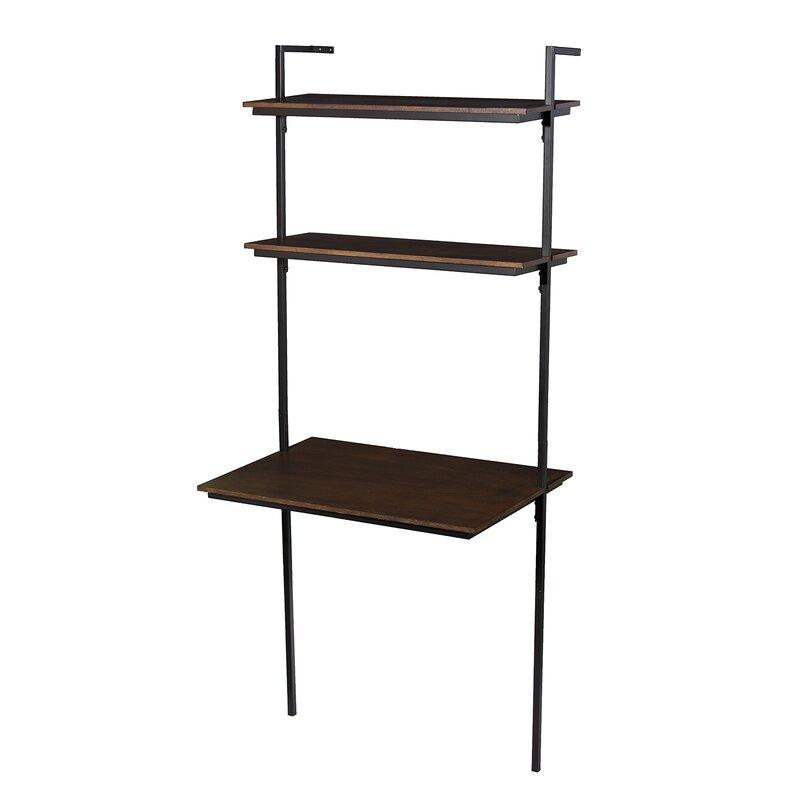 Zipcode Design  Arcade Ladder Desk Color: Black