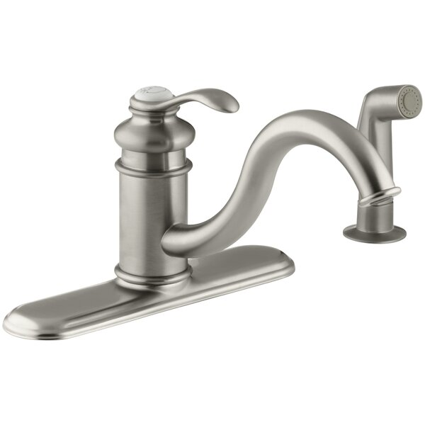 Fairfax 3 Hole Kitchen Sink Faucet with 9 Spout by Kohler