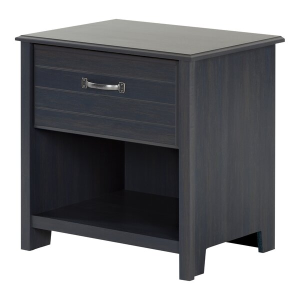 Ulysses 1 Drawer Nightstand by South Shore